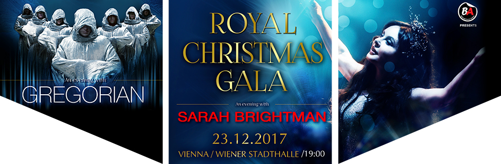 Royal Christmas Gala - an evening with Sarah Brightman, Sa, 23.12.2017 - Royal Christmas Gala - an evening with Sarah Brightman, Sa, 23.12.2017 © Royal Christmas Gala