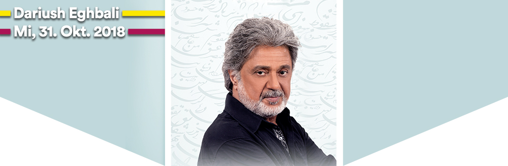 "Dariush Eghbali ""The Legend"" proudly presented by Persianality  Mi, 31.10.2018  Wiener Stadthalle, Halle F - Dariush Eghbali ""The Legend"" proudly presented by Persianality, Mi, 31.10.2018  Wiener Stadthalle, Halle F © Persianality"