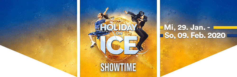 Holiday on Ice SHOWTIME, Mi, 26.01.2020 - So, 09.02.2020, Wiener Stadthalle, Halle D - Holiday on Ice SHOWTIME, Mi, 26.01.2020 - So, 09.02.2020, Wiener Stadthalle, Halle D © Holiday on Ice Production