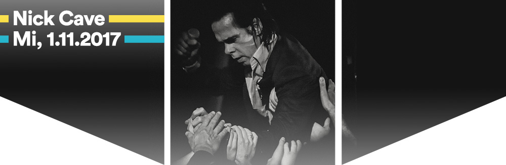 Nick Cave & The Bad Seeds, 1.11.2017 - Nick Cave & The Bad Seeds<br />Mittwoch, 1. November 2017<br />Wiener Stadthalle, Halle D © Barracuda Music