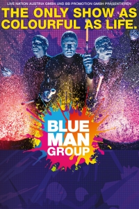 Blue Man Group 2018 © Live Nation