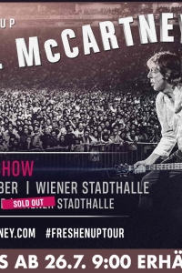 Paul McCartney The FRESHEN UP Tour 2018  @ Wiener Stadthalle © MPL Communications Ltd
