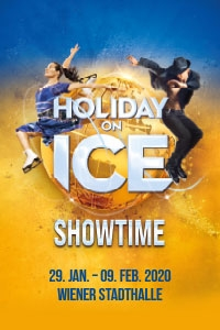 Holiday on Ice SHOWTIME Mi, 29.01.2020 - So, 09.02.2020, Wiener Stadthalle, Halle D © Holiday on Ice Production