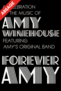 "Forever Amy, ""A celebration of the music of Amy Winehouse - featuring Amy's Original Band!"", Do, 26.03.2020, Wiener Stadthalle, Halle F © Show Factory"