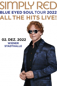 Simply Red - Tour 2020 All the Hits!, Blue Eyed Soul, Di, 10.11.2020 @ Wiener Stadthalle, Halle D, 001 © Barracuda Music GmbH