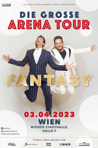 Fantasy: Die große Casanova Arena Tour, Do, 16.09.2021 @ Wiener Stadthalle, Halle F © Global Event & Entertainment