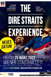 The Dire Straits Experience, Fr, 25.03.2022 @ Wiener Stadthalle, Halle F © Dire Straits Experience, Brnokoncert-CZ