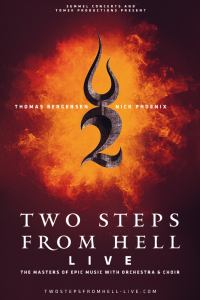 Two Steps From Hell - Live, Europe Tour 2020, Mi, 29.04.2020 @ Wiener Stadthalle, Halle D © Show Factory