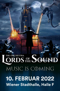 "Lords Of The Sound, ""Music is coming"", Sa, 31.10.2020 @ Wiener Stadthalle, Halle F © Ovation Events GmbH"