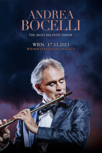 Andrea Bocelli, Sa, 06.11.2021 @ Wiener Stadthalle, Halle D © Global Event & Entertainment