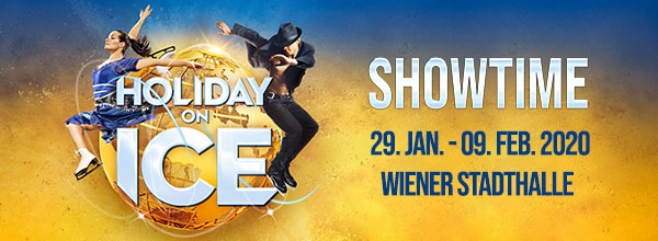 Holiday on Ice SHOWTIME, Mi, 29.01.2020 - So, 09.02.2020, Wiener Stadthalle, Halle D ©Holiday on Ice Productions