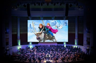 Disney in Concert: Die Eiskönigin 2017 © Presentation licensed by Disney Music Publishing and Walt Disney Studios Motion Pictures, Non Theatrical © Disney