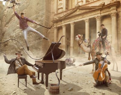 The Piano Guys 2017 © Josh Rossi
