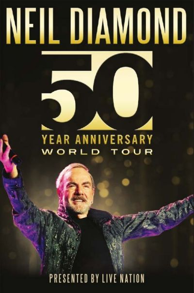 Neil Diamond - Welttournee 2017 © Live Nation Austria