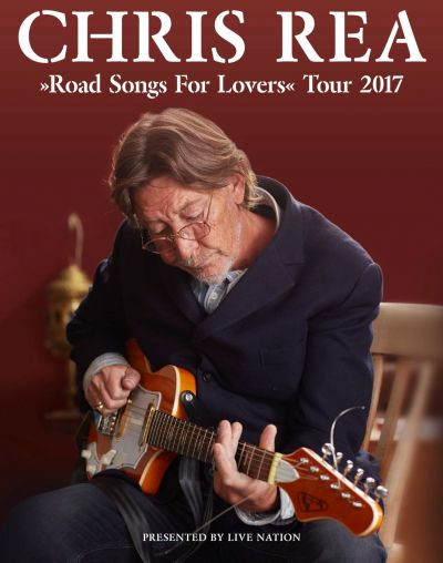 Chris Rea 2017 © Live Nation