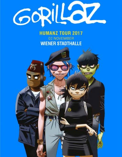 GORILLAZ © Barracuda Music