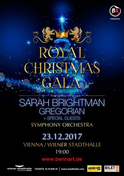 ROYAL CHRISTMAS GALA Sarah Brightman © ROYAL CHRISTMAS GALA