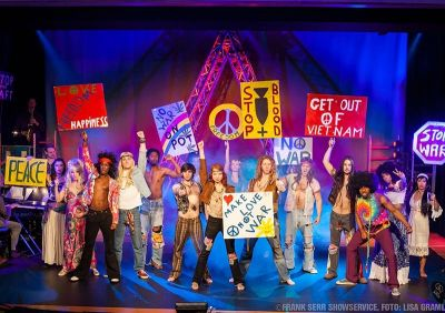 Hair - The American Tribal Love-Rock Musical © Frank Serr Showservice Int