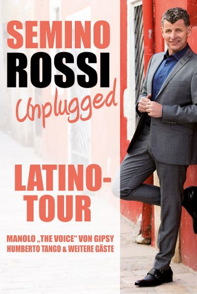 Semino Rossi, Unplugged Latino Tour 2019 © Show Factory