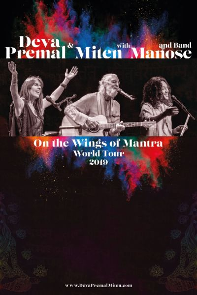 Deva Premal & Miten with Manose and Band, On the Wings of Mantra - World Tour 2019, Mo, 14.10.2019, Wiener Stadthalle, Halle F © Prabhu Music 2018