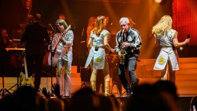 ABBAMANIA - The Show, Super-Trouper-Tour 2021, Fr, 30.04.2021 @ Wiener Stadthalle, Halle D, 002 © Alfred Bueltel
