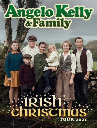 Angelo Kelly & Family, Irish Christmas Tour 2020, Do, 17.12.2020 @ Wiener Stadthalle, Halle D © Thomas Stachelhaus