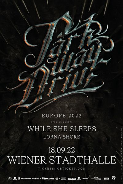Parkway Drive, Viva The Underdogs - European Revolution 2021 Arena Tour, Di, 30.03.2021 @ Wiener Stadthalle, Halle D © Barracuda Music GmbH