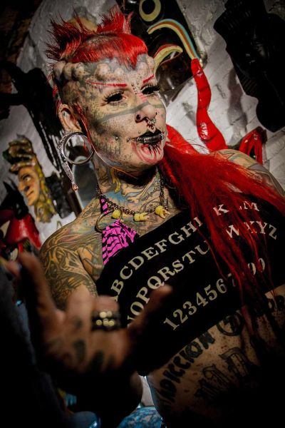The Mexican Vampire Woman - Wildstyle & Tattoo Messe, Sa, 26.09.2020 & So, 27.09.2020 @ Wiener Stadthalle, Halle E, 005 © Mike Auer