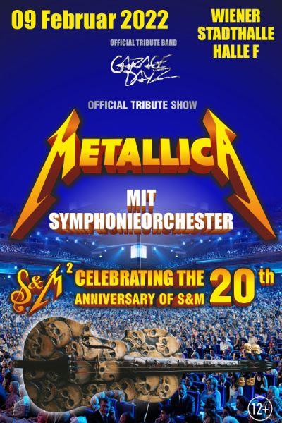 "Metallica ""S&M"" Tribute Show, Fr, 30.10.2020 @ Wiener Stadthalle, Halle F © Ovation Events GmbH"