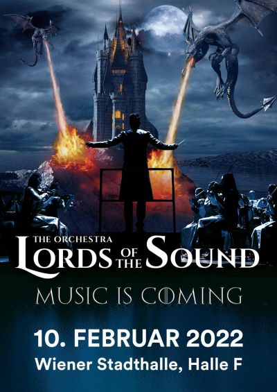 "Lords Of The Sound, ""Music is coming"", Mo, 07.12.2020 @ Wiener Stadthalle, Halle F © Ovation Events GmbH"