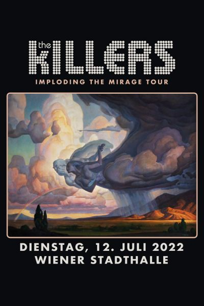 "The Killers, ""Imploding The Mirage"" Tour, Di, 14.07.2020  Wiener Stadthalle, Halle D © Barracuda Music GmbH"