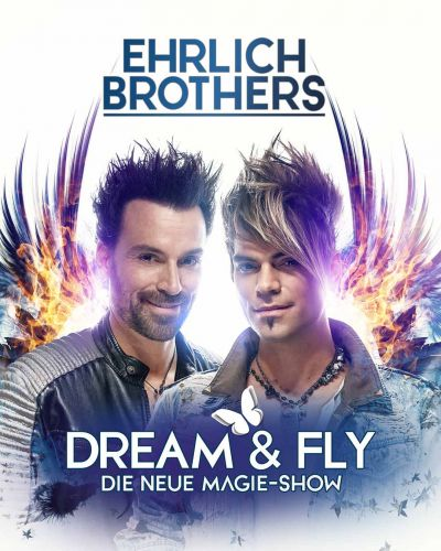 "Ehrlich Brothers 2021 - ""Dream & Fly"", Sa, 15.05.2021 & So, 16.05.2021 @ Wiener Stadthalle, Halle D © S-Promotion Event GmbH"